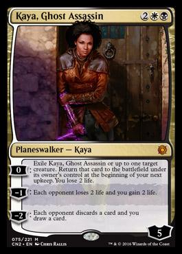 kaya ghost assassin planeswalker image